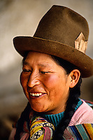 Farming, Chinchero, Sacred Valley of the Incas, Peru