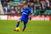 Daniel Candeias (#21) of Rangers FC during the Ladbrokes Scottish Premiership match between Hibernian and Rangers at Easter Road, Edinburgh, Scotland on 8 March 2019.