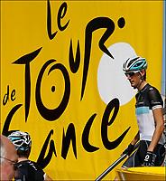 Sykkel<br /> Tour de France 2011<br /> Foto: PhotoNews/Digitalsport<br /> NORWAY ONLY<br /> <br /> CYCLING - TOUR DE FRANCE 2011 - STAGE 1 - Passage du Gois La Barre-de-Monts > Mont des Alouettes Les Herbiers (191,5 km) - 02/07/2011<br /> <br /> Andy Schleck (Team Leopard - Trek)