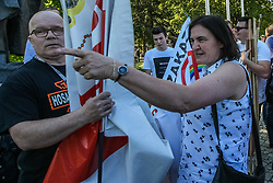 May 27, 2017 - Gdansk, Poland - Anna Kolakowska is seen on 27 May 2017  in Gdansk, Poland Few thousands people took part in the Equality March for LGBT people rights. Dozen of far-right, fascists, and Law and Justice (PiS) politicaian Anna Kolakowska supporters disrupted march screaming anti-gay slogans. Police intervenied, at least one person was arrested. (Credit Image: © Michal Fludra/NurPhoto via ZUMA Press)