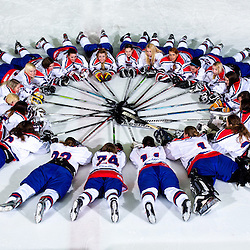 20140320: SLO, Ice Hockey - Slovenian Women National Team for World Championship Div II in Iceland