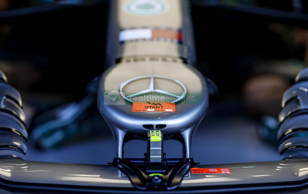 August 31, 2019, Spa-Francorchamps, Belgium: Motorsports: FIA Formula One World Championship 2019, Grand Prix of Belgium, ..Technical detail of Mercedes AMG Petronas Motorsport  (Credit Image: © Hoch Zwei via ZUMA Wire)