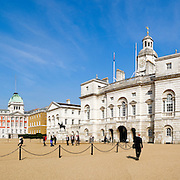 High resolution panorama of London's Whitehall Palace.