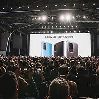 Turner Duckworth <br /> Samsung Unpacked 2020<br /> Palace of Fine Arts Conference Branding Photographer<br /> San Francisco, CA<br /> <br /> Drew Bird Photography<br /> San Francisco Bay Area Photographer<br /> Have Camera. Will Travel. <br /> <br /> www.drewbirdphoto.com<br /> drew@drewbirdphoto.com
