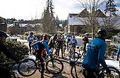 Mountain Bike Canada Training Session Bear Mountain Snow February 28, 2017