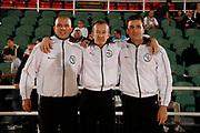 DESCRIZIONE : Avellino Lega A 2013-14 Sidigas Avellino Victoria Libertas Pesaro<br /> GIOCATORE : Arbitri<br /> CATEGORIA : arbitri<br /> SQUADRA : AIAP<br /> EVENTO : Campionato Lega A 2013-2014<br /> GARA : Sidigas Avellino Victoria Libertas Pesaro<br /> DATA : 13/10/2013<br /> SPORT : Pallacanestro <br /> AUTORE : Agenzia Ciamillo-Castoria/A. De Lise<br /> Galleria : Lega Basket A 2013-2014  <br /> Fotonotizia : Avellino Lega A 2013-14 Sidigas Avellino Victoria Libertas Pesaro