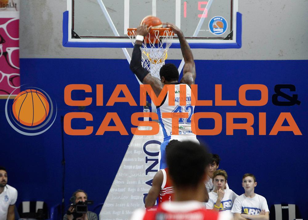 Capo d'Orlando 20/12/2015 - Basket Campionato Lega A 2015/16<br /> Betaland Capo d'Orlando-Consultinvest Pesaro<br /> nella foto: Alex Oriakhi<br /> Foto Ciamillo