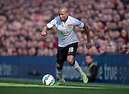 Ashley Young of Manchester United during the Barclays Premier League match at Anfield, Liverpool<br /> Picture by Russell Hart/Focus Images Ltd 07791 688 420<br /> 22/03/2015