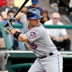 March 5, 2011; Lake Buena Vista, FL, USA; New York Mets third baseman David Wright (5) during a spring training exhibition game against the Atlanta Braves at Disney Wide World of Sports complex.  Mandatory Credit: Derick E. Hingle