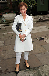 Zoe Wanamaker arriving for a memorial service for the actor Richard Griffiths at St.James's Church, Piccadilly, London, Sunday, 22nd September 2013. Picture by Stephen Lock / i-Images