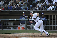 CHICAGO - APRIL 09:  Gordon Beckham #15 of the Chicago White Sox bats against the Tampa Bay Rays on April 09, 2011 at U.S. Cellular Field in Chicago, Illinois.  The White Sox defeated the Rays 4-2.  (Photo by Ron Vesely) Subject: Gordon Beckham..