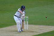 Jimmy Adams of Hampshire batting during the Specsavers County Champ Div 1 match between Hampshire County Cricket Club and Yorkshire County Cricket Club at the Ageas Bowl, Southampton, United Kingdom on 21 April 2017. Photo by Graham Hunt.