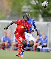 Fotball<br /> 19 mai 2010<br /> NM 2 runde herrer<br /> Kjelsås - Sandefjord<br /> Malick Mane , Sandefjord<br /> Foto : Reidar Talset , Digitalsport