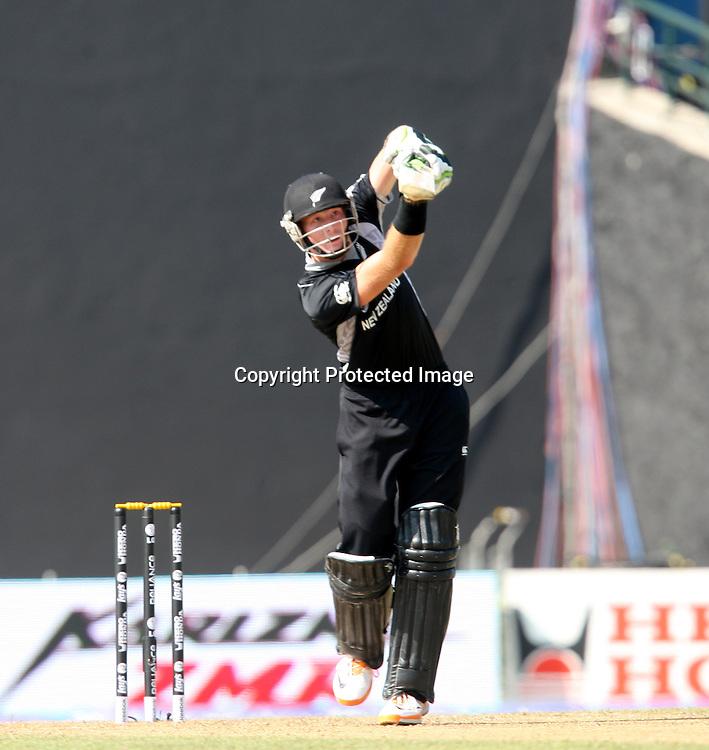Martin Guptill batting at the ICC Cricket World Cup. New Zealand vs Paksitan.Pallekele Cricket Stadium, Kandy, Sri Lanka.Tuesday 8 March 2011. Photo: photosport.co.nz