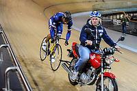 Gregory Bauge - 27.01.2015 -Entrainement Equipe de France de cyclisme su piste <br /> Photo : Anthony Dibon / Icon Sport