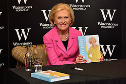 © Licensed to London News Pictures. 03/03/2016. Celebrity TV cook MARY BERRY appears at a book signing for her new book  'Foolproof Cooking'. London, UK. Photo credit: Ray Tang/LNP