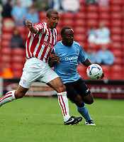 Darrius Vassell Manchester City/Karl Henry Stoke City<br />