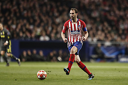 February 20, 2019 - Madrid, Spain - Diego Godin (Atletico de Madrid)  in action during the match   UCL Champions League match between Atletico de Madrid vs Juventus at the Wanda Metropolitano stadium in Madrid, Spain, February 20, 2019  (Credit Image: © Enrique De La Fuente/NurPhoto via ZUMA Press)