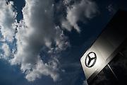 July 21-24, 2016 - Hungarian GP, Mercedes motorhome detail