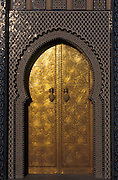 Door to the Royal Palace, Fes, Morocco