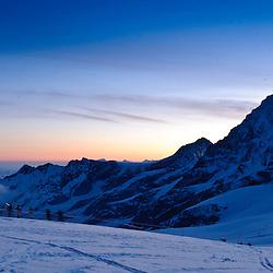 Patrouille des Glacier 24 April 2010 Zermatt, auf dem Posten der Tete Blanche