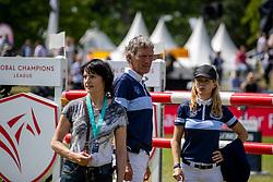 BEERBAUM Ludger (GER), BARYARD-JOHNSSON Malin (SWE)<br /> Hamburg - 90. Deutsches Spring- und Dressur Derby 2019<br /> Parcoursbesichtigung<br /> GLOBAL CHAMPIONS LEAGUE<br /> CSI5* Int. Springprüfung nach Fehlern und Zeit <br /> Wertungsprüfung der Global Champions League <br /> Qualifikation zum LGCT Grand Prix<br /> 01. Juni 2019<br /> © www.sportfotos-lafrentz.de/Stefan Lafrentz
