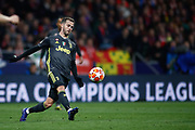 Miralem Pjanic of Juventus during the UEFA Champions League, round of 16, 1st leg football match between Atletico de Madrid and Juventus on February 20, 2019 at Wanda metropolitano stadium in Madrid, Spain - Photo Oscar J Barroso / Spain ProSportsImages / DPPI / ProSportsImages / DPPI