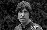 John Weedon, England, UK, racing motorcyclist, 19850806JW1..Copyright Image from Victor Patterson, 54 Dorchester Park, Belfast, UK, BT9 6RJ..Tel: +44 28 9066 1296.Mob: +44 7802 353836.Voicemail +44 20 8816 7153.Skype: victorpattersonbelfast.Email: victorpatterson@me.com.Email: victorpatterson@ireland.com (back-up)..IMPORTANT: If you wish to use this image or any other of my images please go to www.victorpatterson.com and click on the Terms & Conditions. Then contact me by email or phone with the reference number(s) of the image(s) concerned.