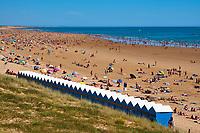 France, Vendée (85), Saint-Gilles-Croix-de-Vie, la grande plage // France, Vendée, Saint-Gilles-Croix-de-Vie, the beach