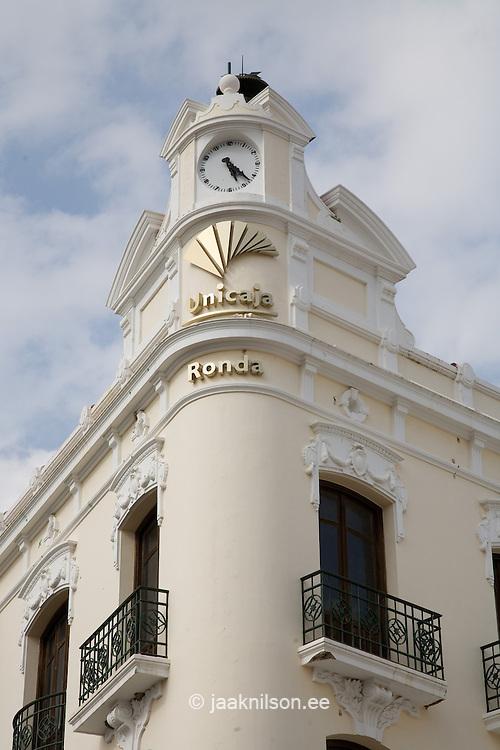 Spanish Architecture in Ronda, Andalucia, Spain