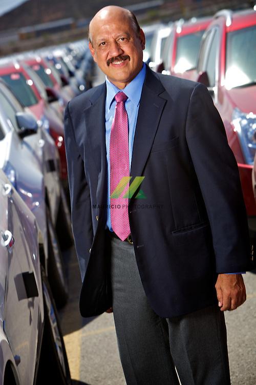 Coahuila, Mexico,- Hector de Hoyos Muñoz, Manufacturing President for GM Mexico