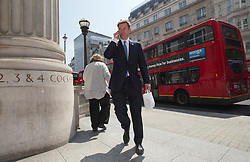 © London News Pictures. 22/05/2011. London, UK. Jeremy Hunt MP arriving at the Department for Culture, Olympics, Media and Sport after a cabinet meeting on May 22, 2012. It was announced yesterday (Monday) that JEREMY HUNT will face a Parliamentary inquiry into claims he failed to register corporate hospitality. Photo credit: Ben Cawthra/LNP