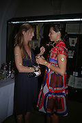 Georgie Leatham and Charlotte Stockdale, Connaught Square Squirrel Hunt Inaugural Hunt Ball. Banqueting House, Whitehall. 8 September 2005. ONE TIME USE ONLY - DO NOT ARCHIVE  © Copyright Photograph by Dafydd Jones 66 Stockwell Park Rd. London SW9 0DA Tel 020 7733 0108 www.dafjones.com