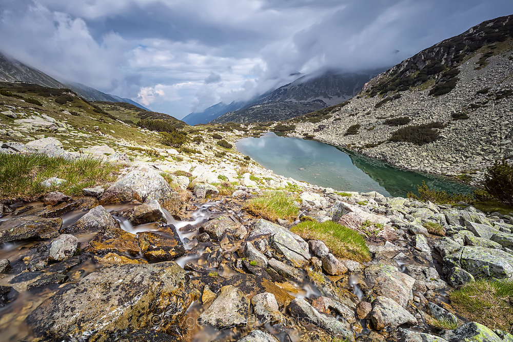 Prevalski lakes in Pirin Mountain