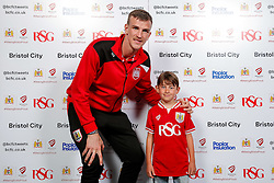Aiden Flint of Bristol City poses during the Player Sponsors' Evening in the Sports Bar & Grill at Ashton Gate - Mandatory byline: Rogan Thomson/JMP - 11/04/2016 - FOOTBALL - Ashton Gate Stadium - Bristol, England - Bristol City Player Sponsors' Evening.