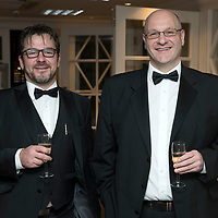 Perthshire Chamber of Commerce Business Star Awards 2017…Crieff Hydro Hotel<br />Jason Henderson (left) and Malcolm Copland<br />Picture by Graeme Hart. <br />Copyright Perthshire Picture Agency<br />Tel: 01738 623350  Mobile: 07990 594431