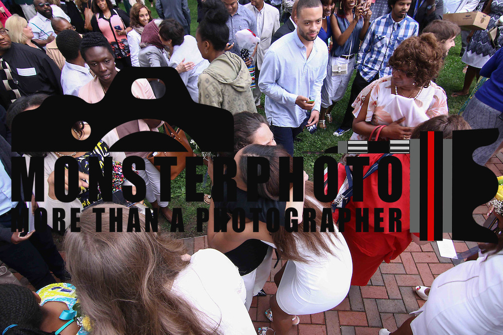 Sanford graduates celebrate with family and friends after Sanford 79th commencement exercises Friday, June 05, 2015, at Sanford School amphitheater in Hockessin, Delaware.