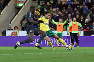 Josh Murphy of Norwich crosses the ball during the FA Cup match at Carrow Road, Norwich<br /> Picture by Paul Chesterton/Focus Images Ltd +44 7904 640267<br /> 06/01/2018