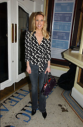 The HON.IMOGEN LLOYD WEBBER at the Grand Classics screening of Manhattan hosted by Giles Deacon at the Electric Cinema, Portobello Road, London W11 on 13th November 2006.<br />