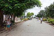 Street in San Andres, Holguin, Cuba.