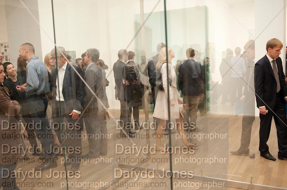 GERHARD RICHTER EXHIBITION, Gerhard Richter: Panorama. Tate Modern. London. 4 October 2011. <br /> <br />  , -DO NOT ARCHIVE-© Copyright Photograph by Dafydd Jones. 248 Clapham Rd. London SW9 0PZ. Tel 0207 820 0771. www.dafjones.com.