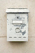 old weathered mailbox
