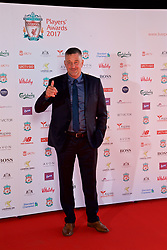 LIVERPOOL, ENGLAND - Tuesday, May 9, 2017: Former Liverpool player John Aldridge on the red carpet for the Liverpool FC Players' Awards 2017 at Anfield. (Pic by David Rawcliffe/Propaganda)