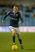 Millwall midfielder Jed Wallace (7) on the ball during the EFL Sky Bet Championship match between Millwall and Birmingham City at The Den, London, England on 28 November 2018.