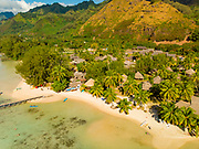 Les Tipaniers Hotel, Tiahura, Moorea, French Polynesia, South Pacific