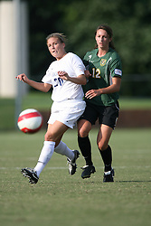 Virginia Cavaliers M Nikki Lieb (20)..The Virginia Cavaliers Women's Soccer Team defeated the University of Vermont 6-0 on September 15, 2006 at Klöckner Stadium in Charlottesville, VA...