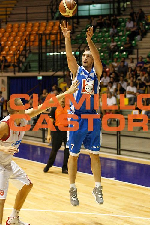 DESCRIZIONE : Desio Trofeo Lombardia Lega A 2011-12 Bennet Cantu Cimberio Varese<br /> GIOCATORE : Marko Scekic<br /> CATEGORIA : Tiro Three Points<br /> SQUADRA : Bennet Cantu <br /> EVENTO : Campionato Lega A 2011-2012<br /> GARA :  Bennet Cantu Cimberio Varese<br /> DATA : 25/09/2011<br /> SPORT : Pallacanestro<br /> AUTORE : Agenzia Ciamillo-Castoria/G.Cottini<br /> Galleria : Lega Basket A 2011-2012<br /> Fotonotizia : Desio Trofeo Lombardia Lega A 2011-12  Bennet Cantu Cimberio Varese<br /> Predefinita :
