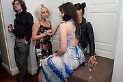 JAIME WINSTONE; DAISY LOWE; EMILY SONNET, The after-party after the premiere of Duncan WardÕs  film ÔBoogie WoogieÕ ( based on the book by Danny Moynihan). Westbury Hotel. Conduit St. London.  13 April 2010 *** Local Caption *** -DO NOT ARCHIVE-© Copyright Photograph by Dafydd Jones. 248 Clapham Rd. London SW9 0PZ. Tel 0207 820 0771. www.dafjones.com.<br /> JAIME WINSTONE; DAISY LOWE; EMILY SONNET, The after-party after the premiere of Duncan Ward's  film 'Boogie Woogie' ( based on the book by Danny Moynihan). Westbury Hotel. Conduit St. London.  13 April 2010