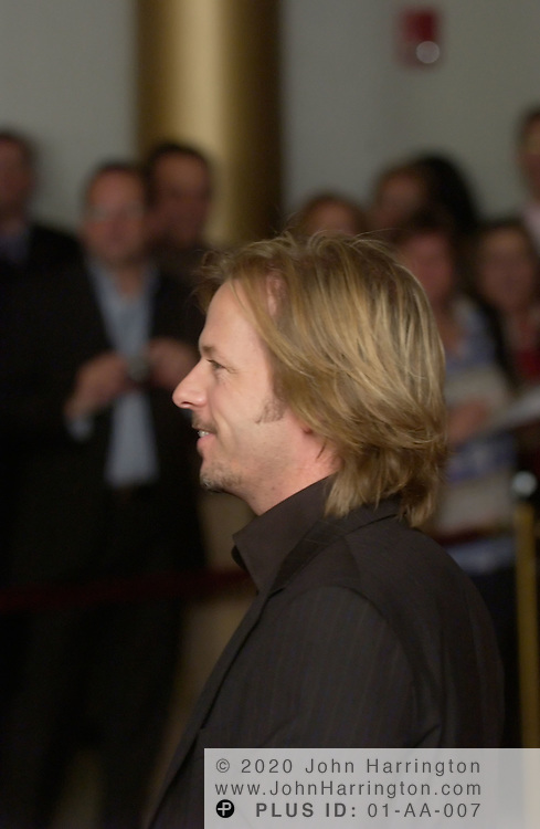 David Spade joined other former SNL members as they honored Lorne Michaels at Washington DC's Kennedy Center by presenting him with the Mark Twain Humorist Award on Tuesday October 26, 2004.  The award is given for a lifetime achievement in comedy.