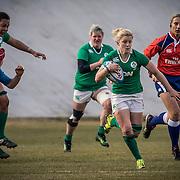 L'Aquila 12/02/2017 Stadio Fattori<br /> RBS 6 nations women 2017<br /> Italia vs Irlanda <br /> Paula Fitzpatrick